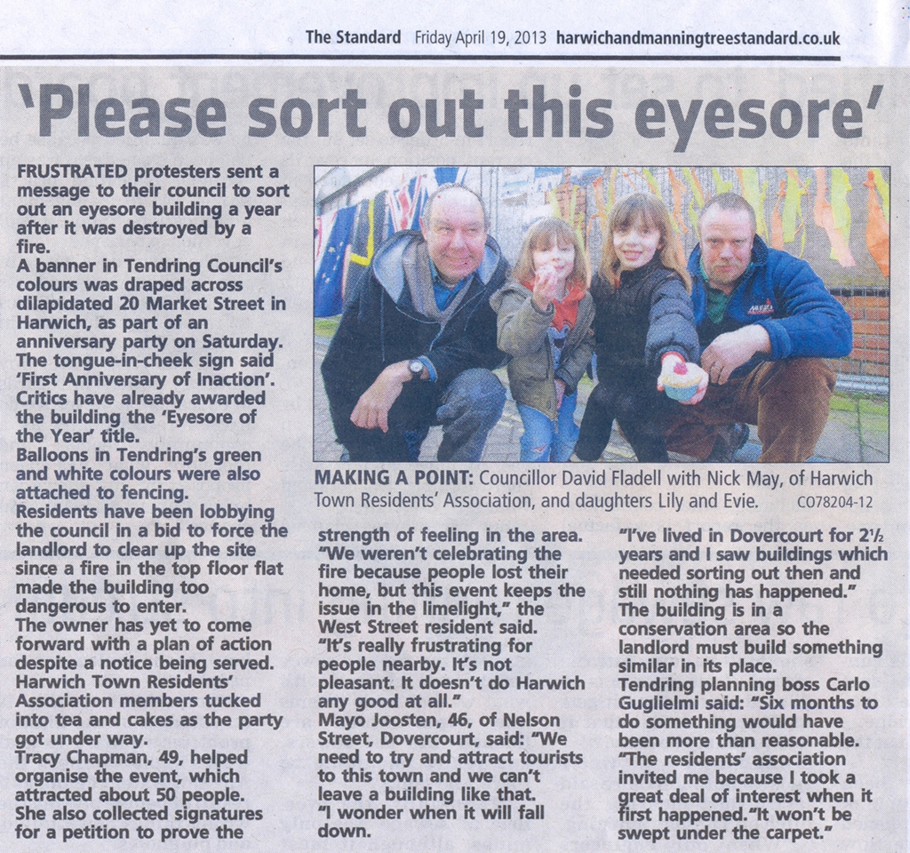 Harwich & Manningtree Standard. (Click to view larger)